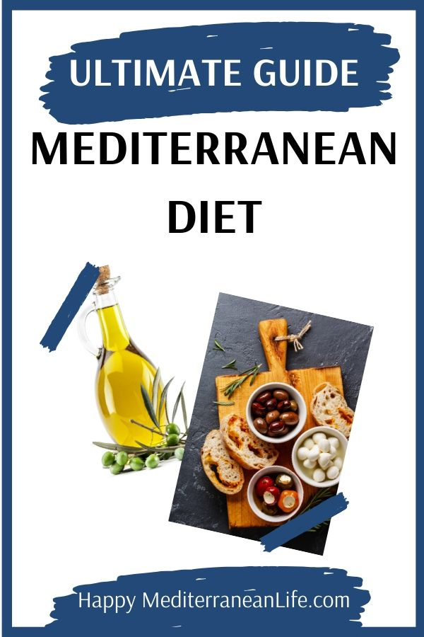 pin of the mediterranean diet guide