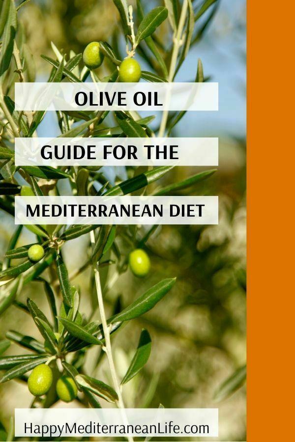 oilive oil mediterranean diet pin