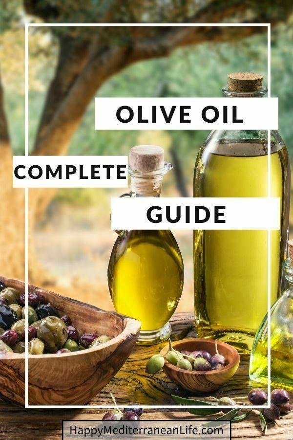 olive oil mediterranean diet pin
