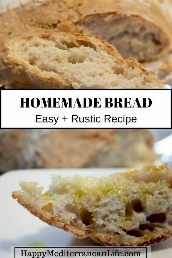 easy rustic bread recipe