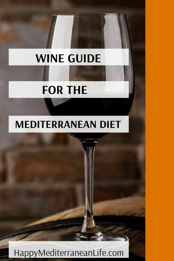 wine and the mediterranean diet pin