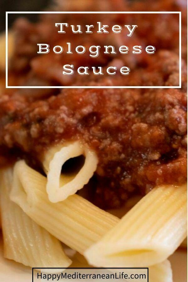 turkey bolognese sauce pin