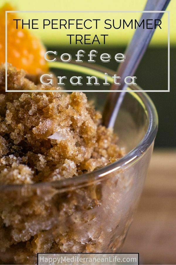 coffee granita: the perfect summer treat pin