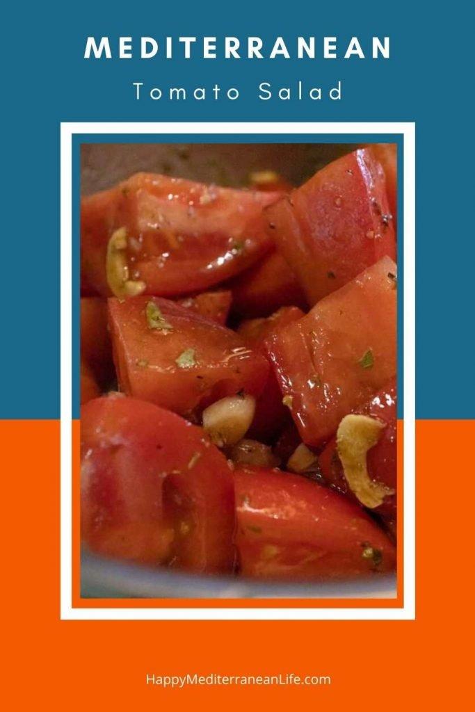 medtierranean diet tomato salad pin