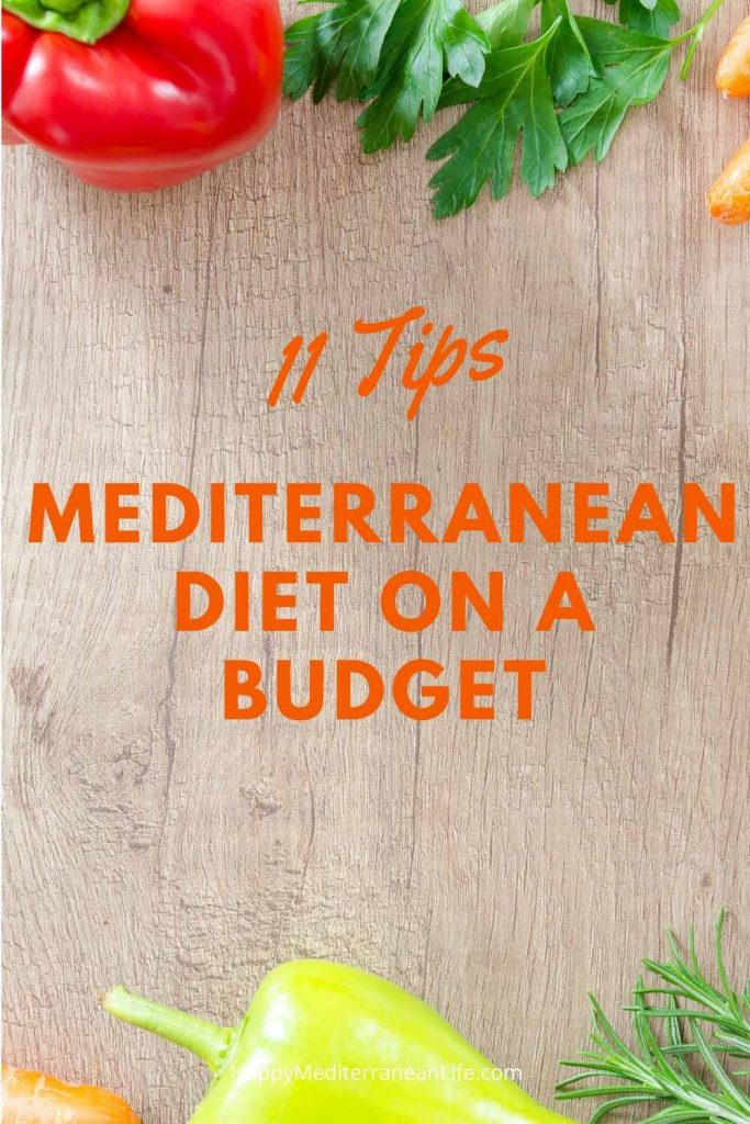11 tips for the mediterranean diet on a budget pin